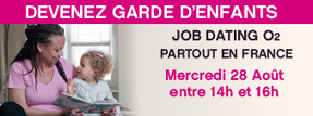 JOB DATING Garde d'enfants le mercredi 28 août | Blog o2 | Garderie au Québec | Scoop.it