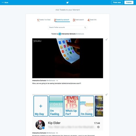 How to set up Twitter Moments for your school | Boarding Schools | Scoop.it