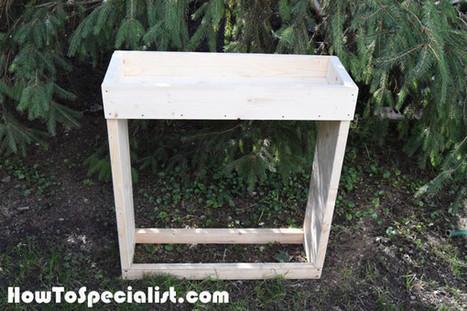 DIY Indoor Firewood Rack | MyOutdoorPlans | Free Woodworking Plans and Projects, DIY Shed, Wooden Playhouse, Pergola, Bbq | Garden Plans | Scoop.it