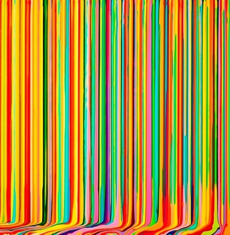 Ian Davenport | GIACOMO GUIDI ARTE CONTEMPORANEA | Rome Gallery Tours | FantastArt | Scoop.it