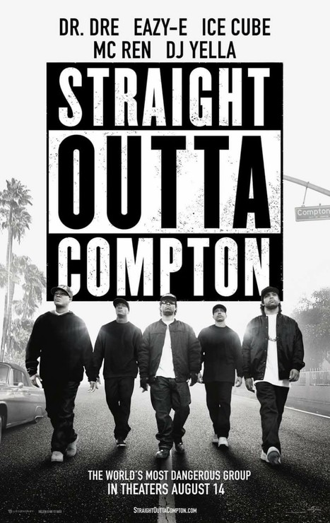 Straight Outta Compton Aug 14th  The Story, The Music, The Movement.... NWA | GetAtMe | Scoop.it