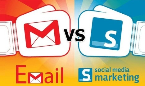 Email Marketing Knocks Out Social Media in 5 Rounds #infographic | Online tips & social media nieuws | Scoop.it