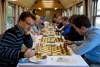 Chess Train Tournament a great success - Chessbase News   Chess on the net   Scoop.it