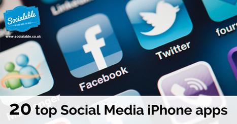 20 Top Social Media iPhone Apps | Digital Footprint | Scoop.it