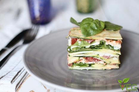 Lasagne crudiste - Vegano Gourmand | Alimentazione Naturale, EcoRicette Veg e Vegan | Scoop.it