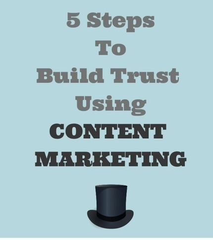 5 Steps To Build Trust Using Content Marketing | Matters of Content | Scoop.it