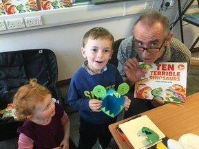 Paul Stickland Pop Up Dinosaur Roar! Workshop in Luton | Dinosaur Roar! | Scoop.it
