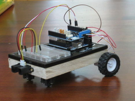Carduino- A simple Arduino robotics platform with its own library   Electronics news   Scoop.it