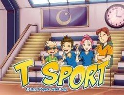 T SPORT, un nouveau serious game d'éducation aux valeurs du sport | Éducation aux médias | Scoop.it