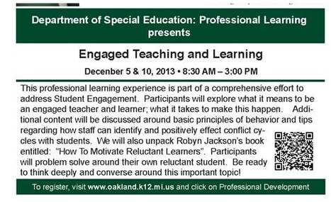 Engaged Teaching and Learning (2 Day Event) | Building Resilient Students | Scoop.it
