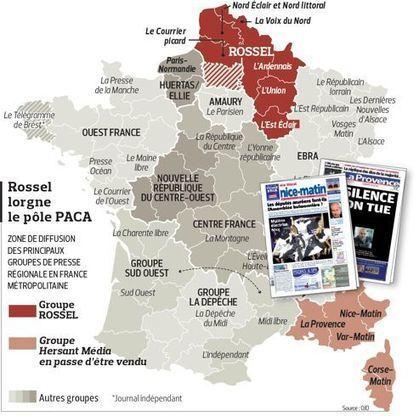 Hersant: Rossel barre la route à Tapie | DocPresseESJ | Scoop.it
