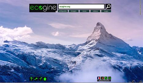 Ecogine, le moteur de recherche Made in France | Univers Nature – Actualité, environnement, habitat et santé | Bonnes Pratiques - Innovations RSE : Entreprises et collectivités | Scoop.it