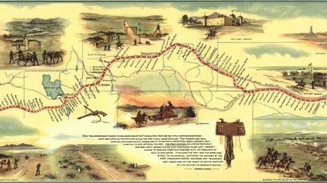 10 Things You May Not Know About the Pony Express - History Lists | Navigate | Scoop.it