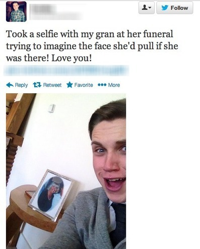 Selfies at Funerals | Social Media: Don't Hate the Hashtag | Scoop.it