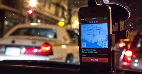 Uber's $90K salary could disrupt the taxi business - CNBC.com | taxi fleet | Scoop.it