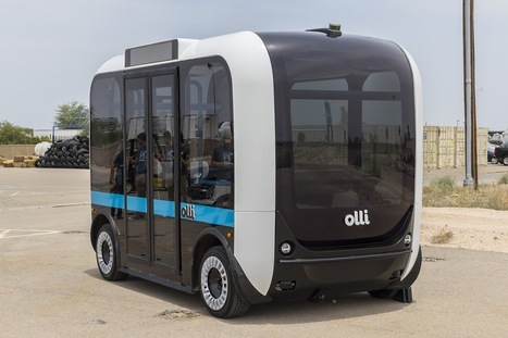 Olli, a 3D printed, self-driving minibus, to hit the road in US | News we like | Scoop.it