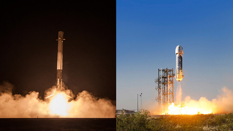 Commercial Space Race Propelled by Musk vs. Bezos Rocket Competition | Space Tourism | Scoop.it