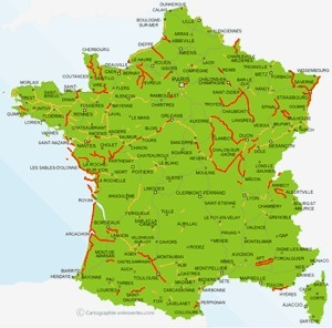 Les meilleurs parcours de France pour le vélo et le roller   les plans trop cools du web…   What else...   Scoop.it