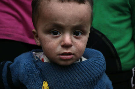 UN spotlights trauma of Syrian refugee children - Times of India | PTSD, Trauma | Scoop.it