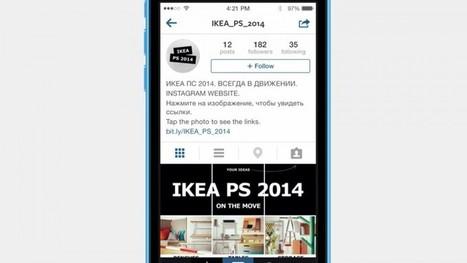 Ikea a créé un site web… dans Instagram | Stratégie webmarketing | Scoop.it