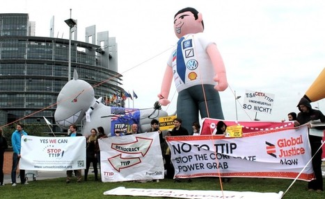 Le lobbying des milieux d'affaires sur le traité transatlantique dénoncé par des ONG | Think outside the Box | Scoop.it