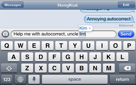 How to Type Faster by Avoiding Autocorrect Mistakes on iOS [Quicktip] | IPADS ENHANCING EDUCATION | Scoop.it