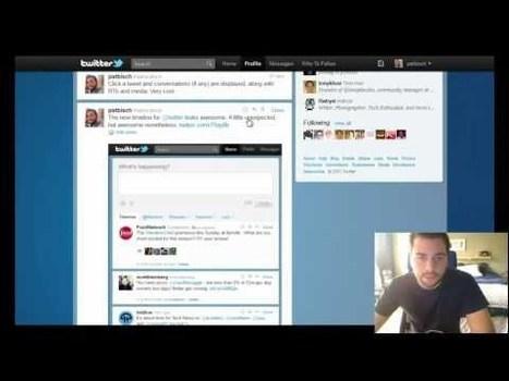 Twitter prueba el nuevo diseño de su timeline | Conocimiento libre y abierto- Humano Digital | Scoop.it