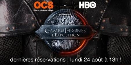 Game of Thrones, l'Exposition : dernières places disponibles lundi | Littérature, Philosophie, Art, Architecture,... | Scoop.it
