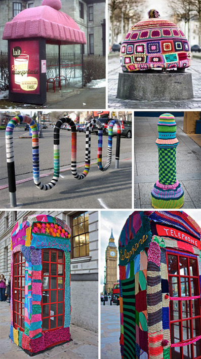 Yarn Bombs! 51 Victims of Knitted Graffiti #art #yarnbombing #streetart #installation | Yarn Bombing | Scoop.it