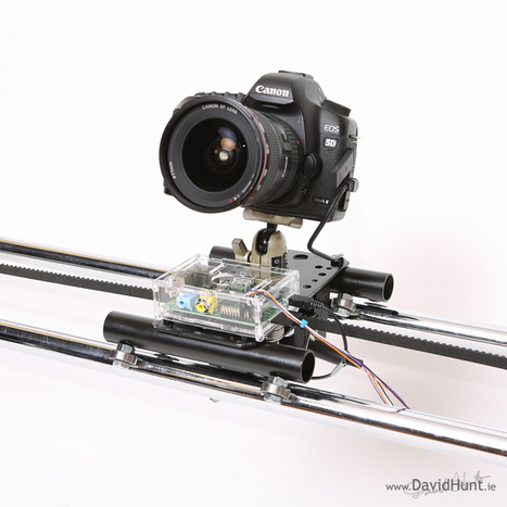 Lapse Pi – Motorised Time-lapse Rail with Raspberry Pi | inalia | Scoop.it