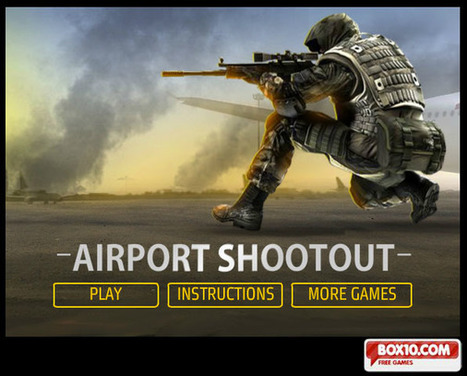 Airport Shootout-Free Game Online | Drugo Non Balla | Scoop.it