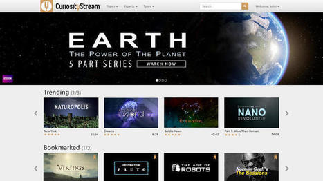 With CuriosityStream, Discovery Channel founder seeks online success | MOVIES VIDEOS & PICS | Scoop.it