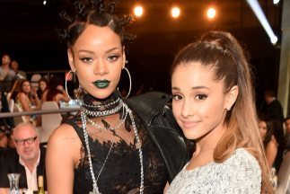 Dicen que Rihanna se burló de Ariana Grande mientras cantaba | MUSIC FUNNY | Scoop.it