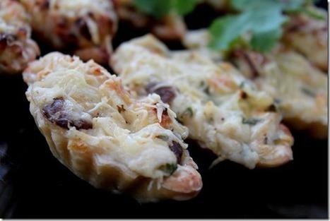 Mini tartelettes poulet-champignons | Les recette de les joyaux de sherazade | Scoop.it
