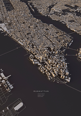 City Layouts Created with OpenStreetMap Data | visual data | Scoop.it