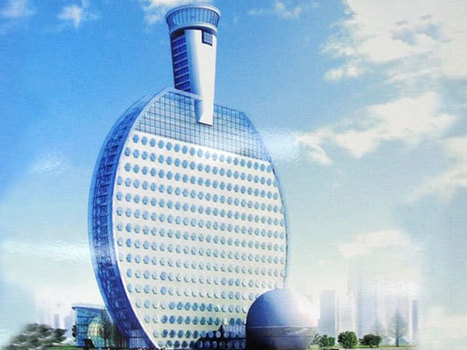 Ping Pong Paddle Shaped Hotel In China | Travels on the net | Scoop.it
