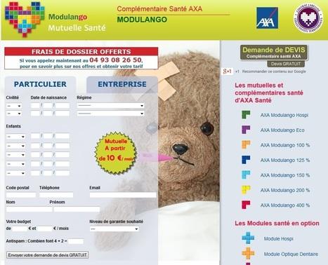 AXA mutuelle Santé : Infos en Ligne | mutuelles | Scoop.it