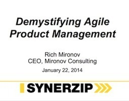 Demystifying Agile Product Management | Thriving in the Project Age | Scoop.it