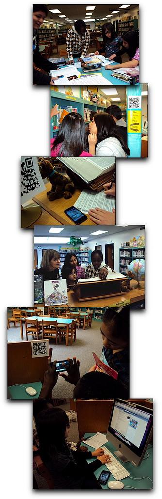 QR Code Quest: a Library Scavenger Hunt | The MHMS Daring School Library Blog | Skolbiblioteket och lärande | Scoop.it