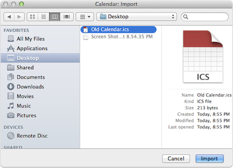 OS X: Merging and Removing Unused Calendars - The Mac Observer | Great technology tips from the Geek Goddess | Scoop.it