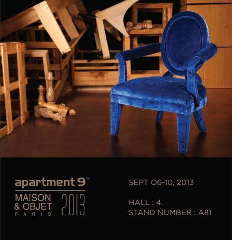 Innovative range of fabric and furniture by apartment9 in Paris | The Humming Notes | Scoop.it