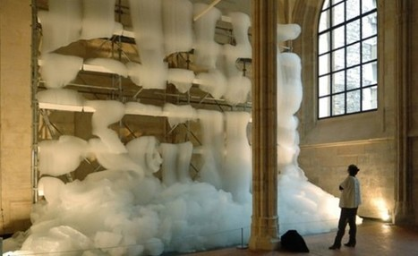 Foaming Installation Spews Suds All Over Parisian Monastery | ARCHIresource | Scoop.it