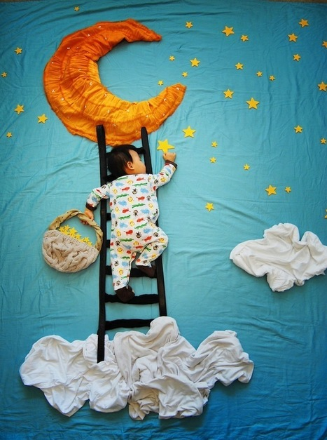 Mother Creates Adorable Adventures for Her Sleeping Son | Inspiration: Imagine. See the possibilities. | Scoop.it