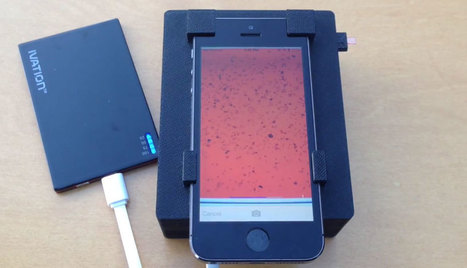 Scientists turn an iPhone into a blood parasite detector | Mobile Health Trends | Scoop.it