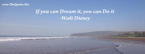 Walt Disney Quotes | TheQuotes.Net - Motivational Quotes | Quotes | Scoop.it
