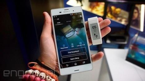 Smartband Talk: la pulsera de Sony evoluciona con soporte para voz y pantalla propia (video) | Tecnología 2015 | Scoop.it