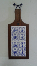 UPCYCLE:  A Delft Cheese Board and a Clock from Winter Wheat | The Nature of Art | Scoop.it