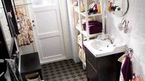 Adoucir la déco de la salle de bains en 10 idées   maison   Scoop.it