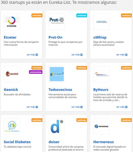 Eureka-List: La lista definitiva del ecosistema emprendedor | Participacion 2.0 y TIC | Scoop.it