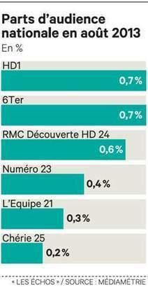 Les six nouvelles chaînes TNT bientôt accessibles à un Français sur deux   DocPresseESJ   Scoop.it
